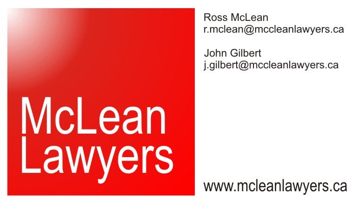 Mclean Lawyers Sauble Beach