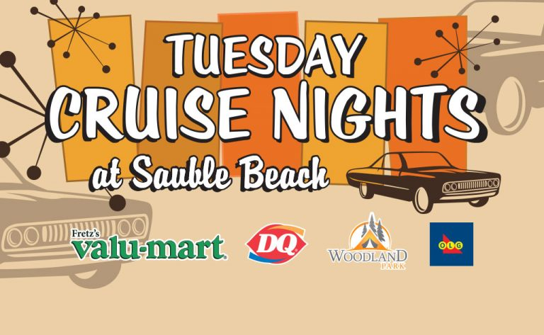 Tuesday Cruise Nights Sauble Beach