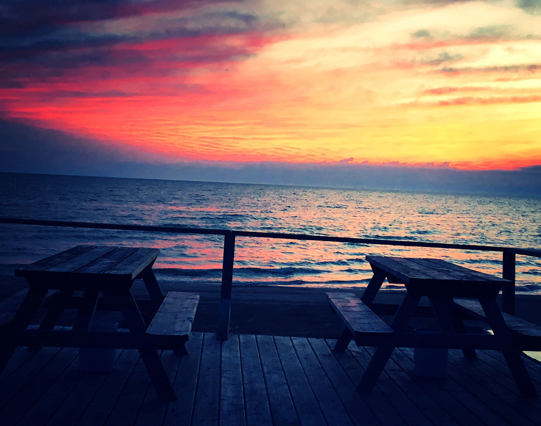 Tables_sunset