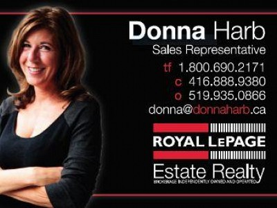 Donna Harb - Royal LePage Estate Realty
