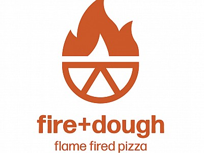 Fire+dough pizza